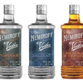 Nemiroff Vodka Unveils New Bottle Design photo