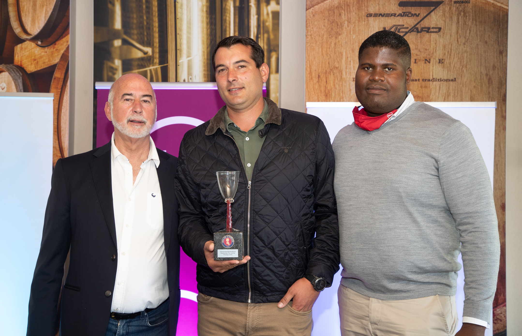 Diemersdal Snaps-up 9th Absa Top 10 Pinotage Trophy photo