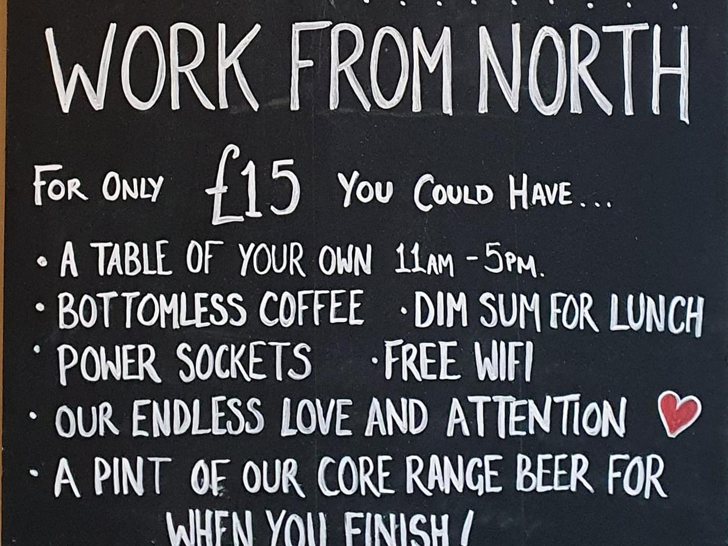 North Bar Launches Co-working Space With Bottomless Coffee And After Work Pint photo