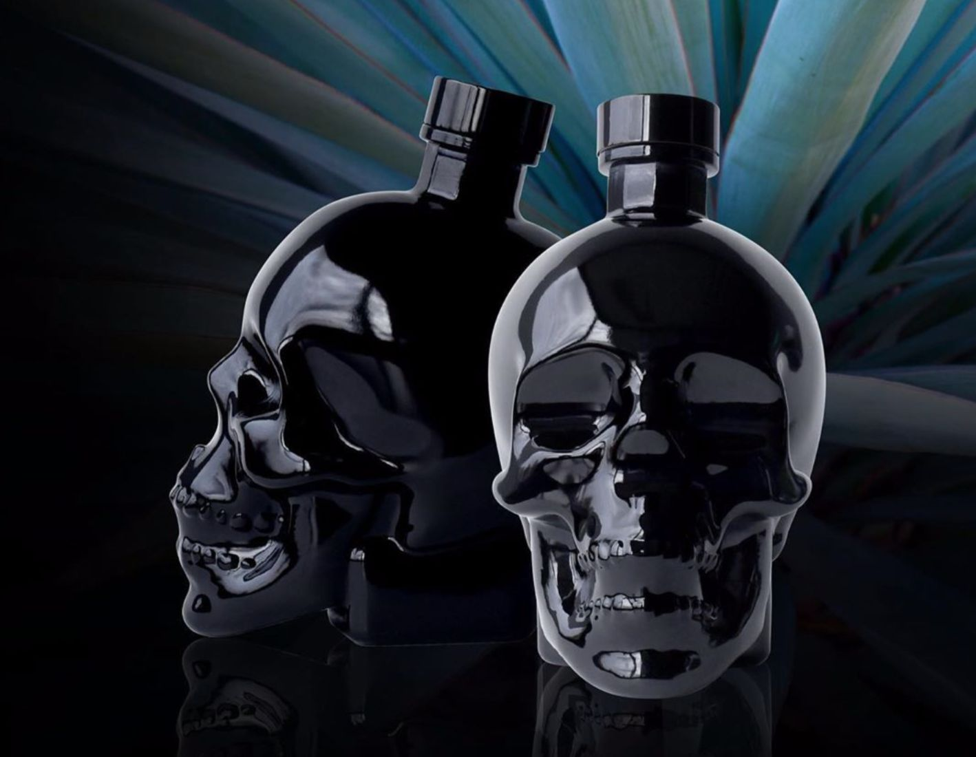 Crystal Head Vodka Introduces 'onyx' In A Black Skull Bottle photo