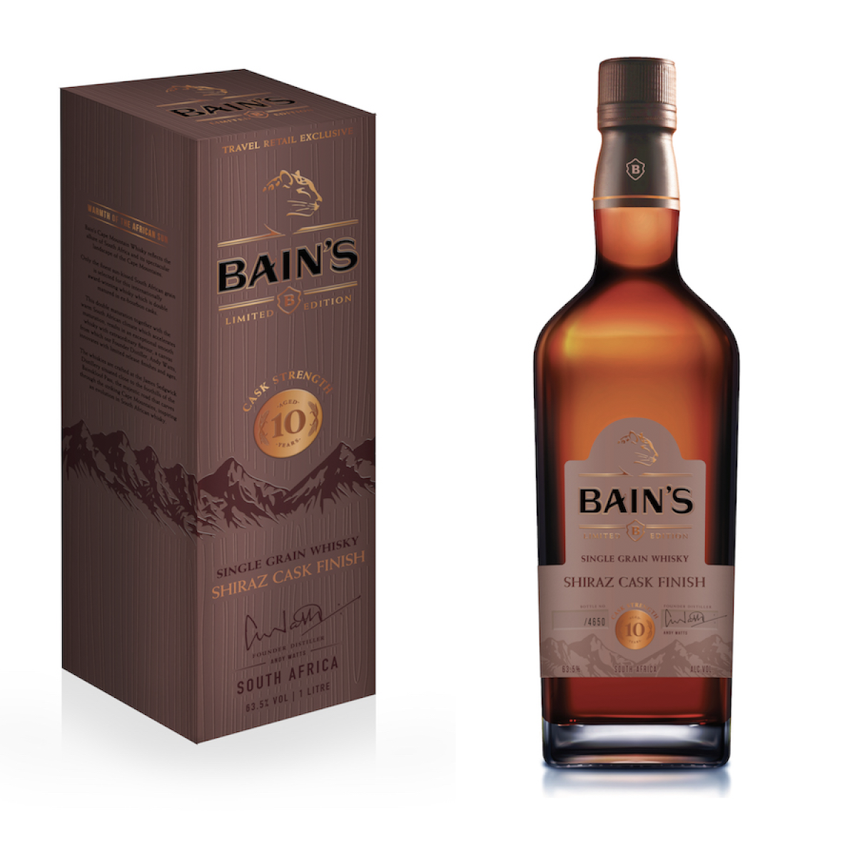 Distell To Preview Duty Free Exclusive From Bain's At Virtual Travel Retail Expo photo