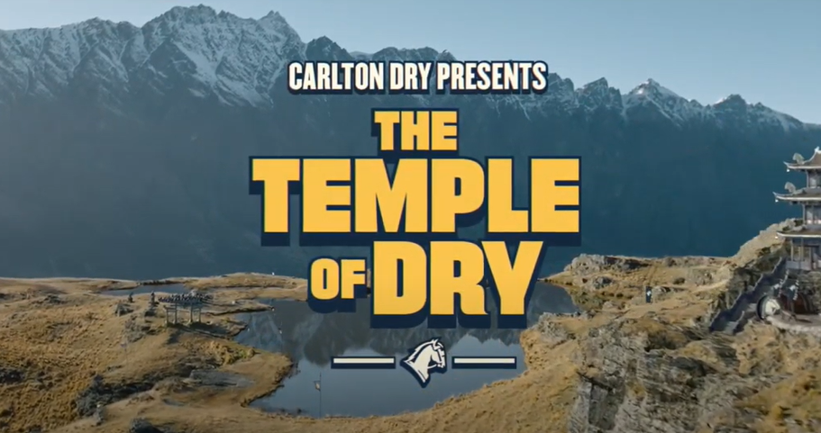 Carlton Dry Creates An Uncomplicated Way Of Life Based On Beer In 'temple Of Dry' Campaign photo