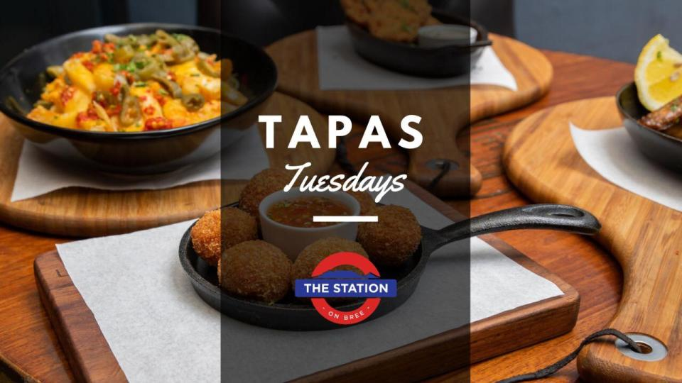 Order 5 Tapas plates and only pay for 3 photo