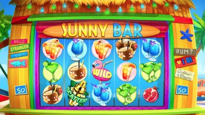 Sunny Bar slot main 710x399 1 700x393 Best Drink Themed Free Online Slots