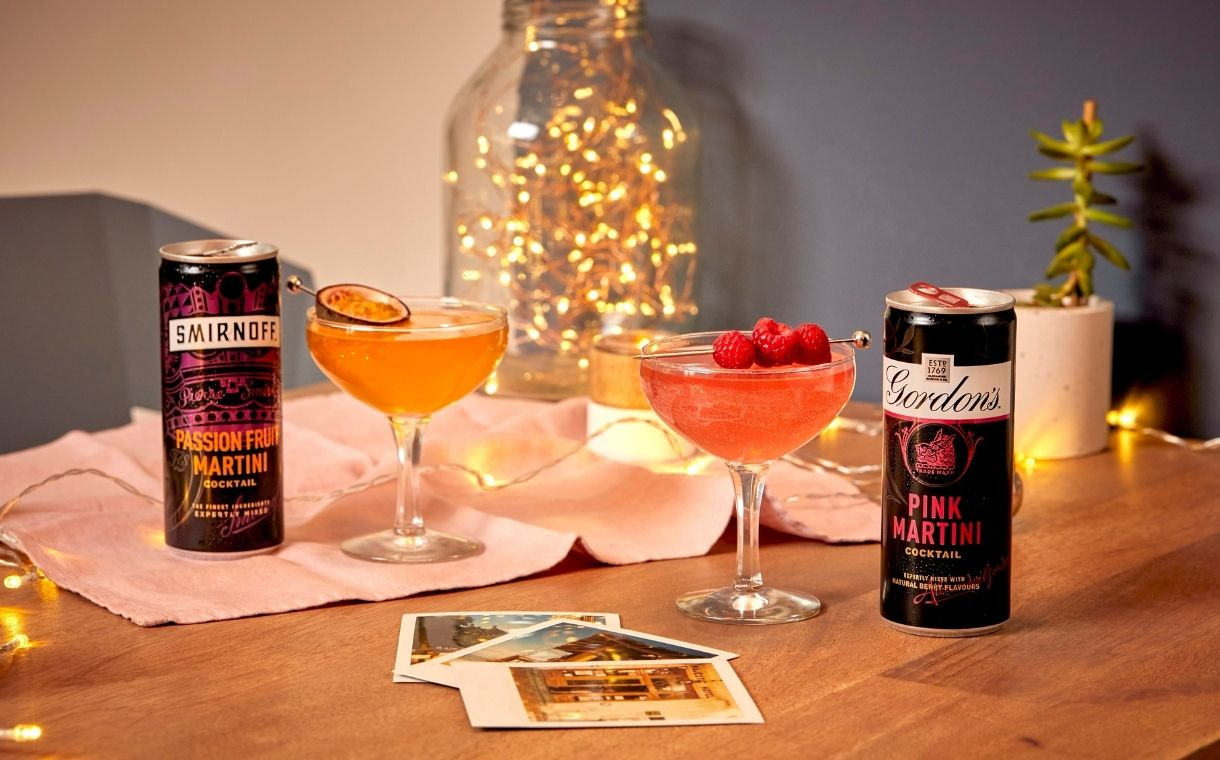 Diageo Expands Rtd Offering With New Smirnoff And Gordon's Martinis photo