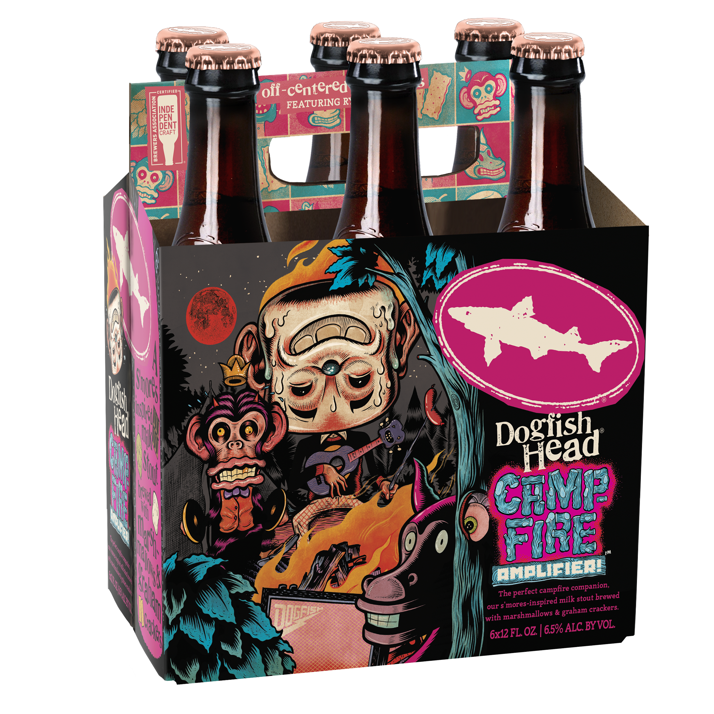 Dogfish Head Releases Campfire Amplifier S'mores-centric Milk Stout photo