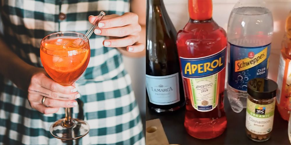 This Autumnal Aperol Spritz Recipe Will Warm You Up In No Time photo