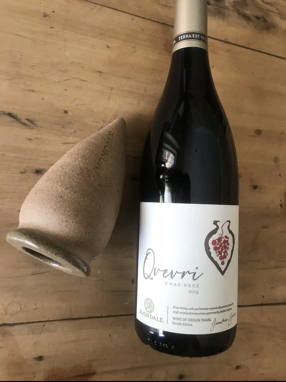 The Avondale 2019 Qvevri Red Showcases The  Uniqueness Of This Ancient Winemaking Vessel photo
