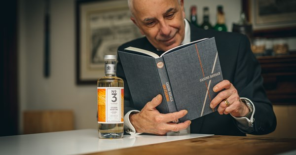 No.3 London Dry Gin Collaborates With Alessandro Palazzi On Vesper Martini Rtd photo