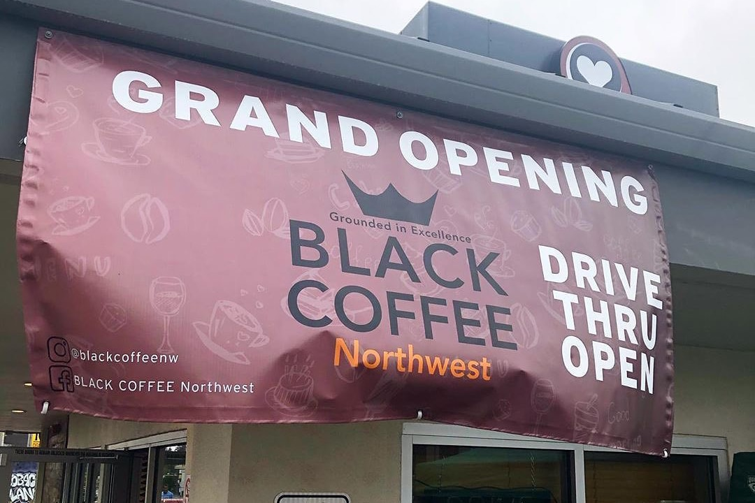 After An Arson Attempt, Black Coffee Nw Is Open For Business photo