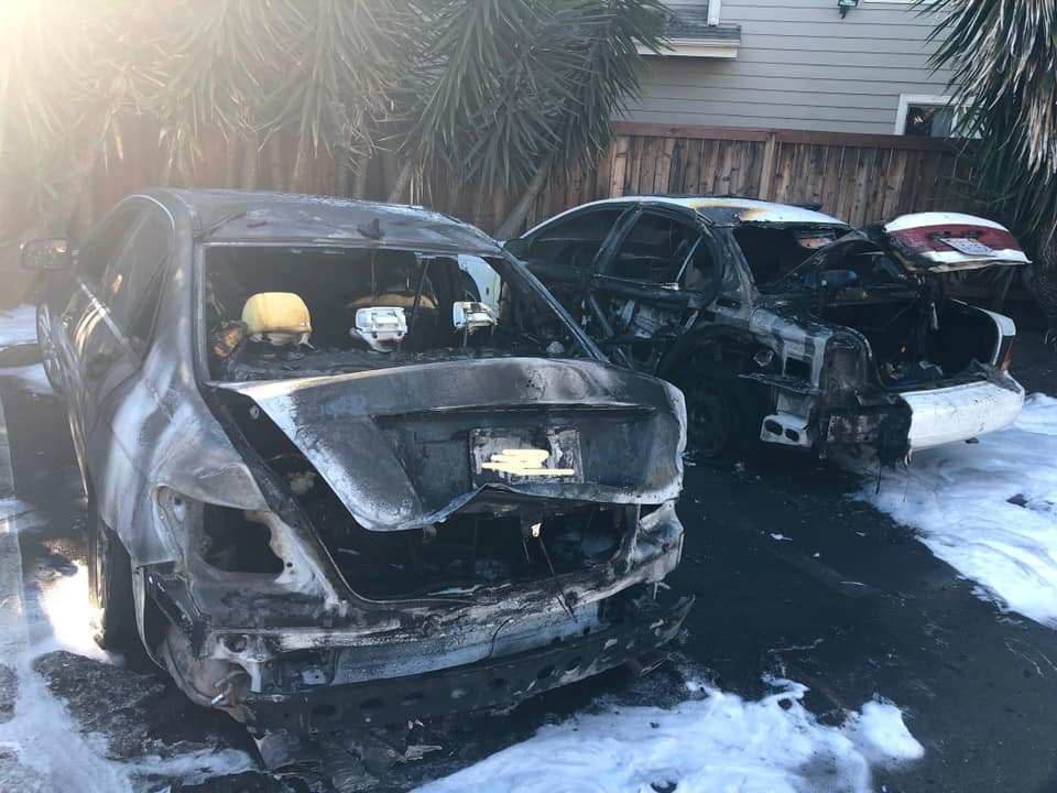 Rohnert Park Police Arrest Woman For Torching Two Cars photo