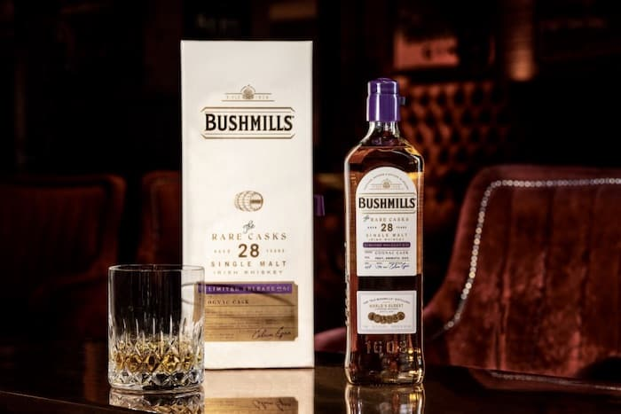 Bushmills Irish Whiskey Adds A 28 Year Old Cognac Cask Irish Whiskey photo