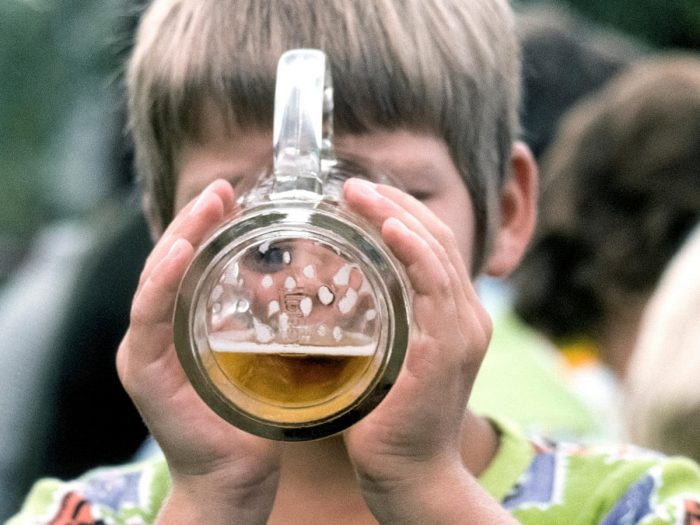 child drinking beer 700x525 Legal Penalties For Minor In Possession Of Alcohol