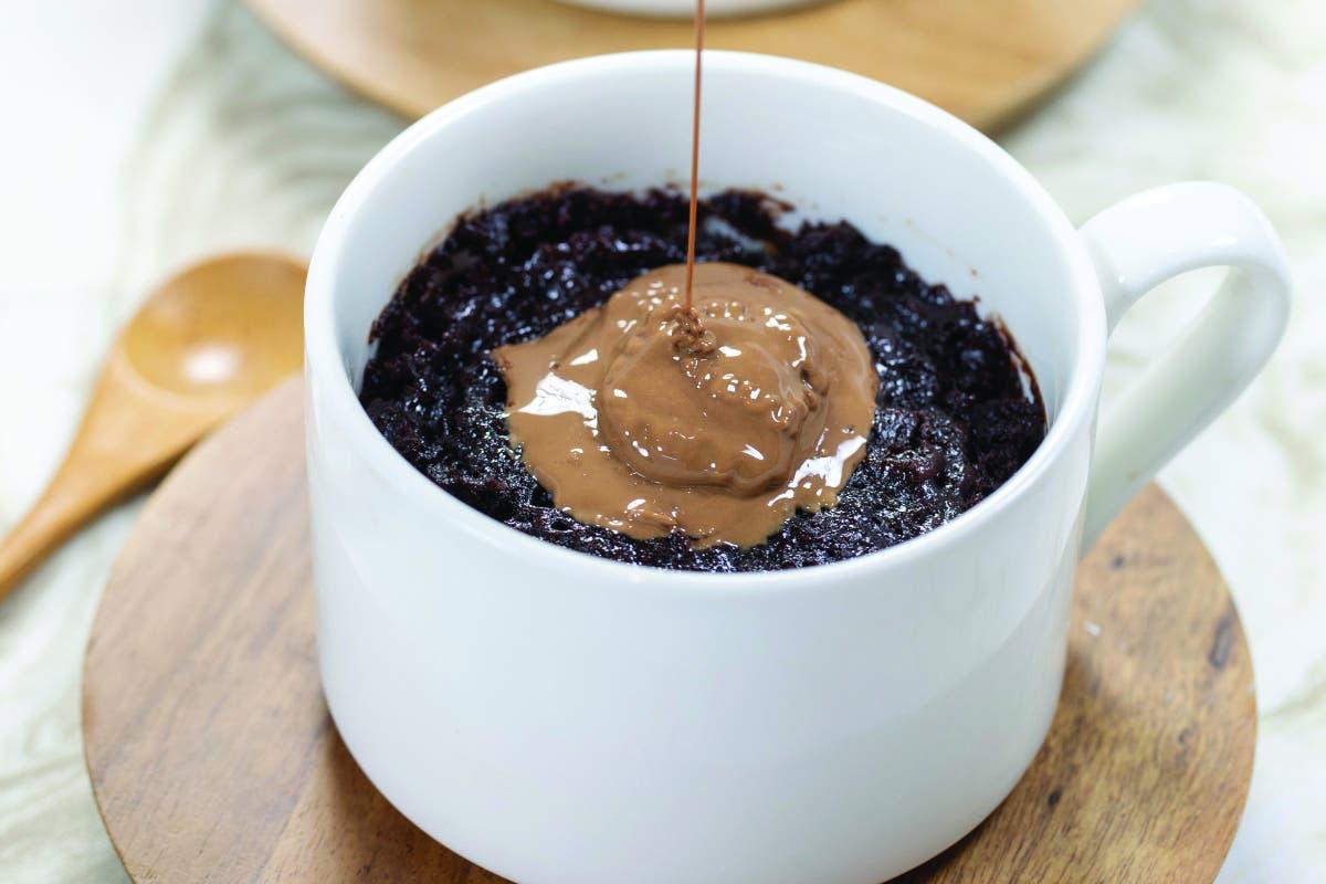 Gooey Chocolate Mug Cakes Recipe photo