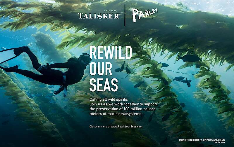Talisker Starts Collaboration With Parley For The Oceans photo
