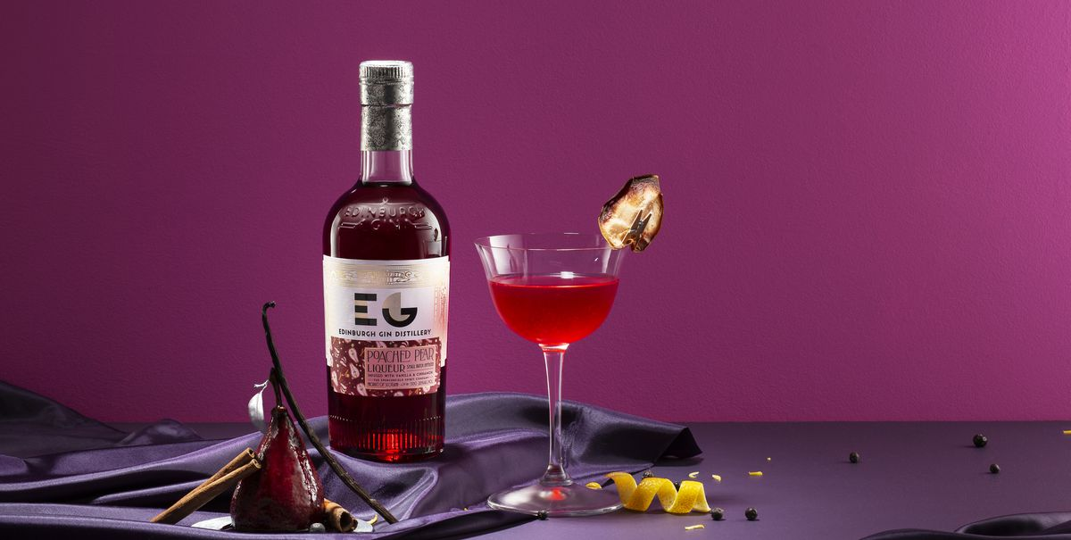 Edinburgh Gin's New Poached Pear Gin Liqueur Sounds Perfect For Christmas photo