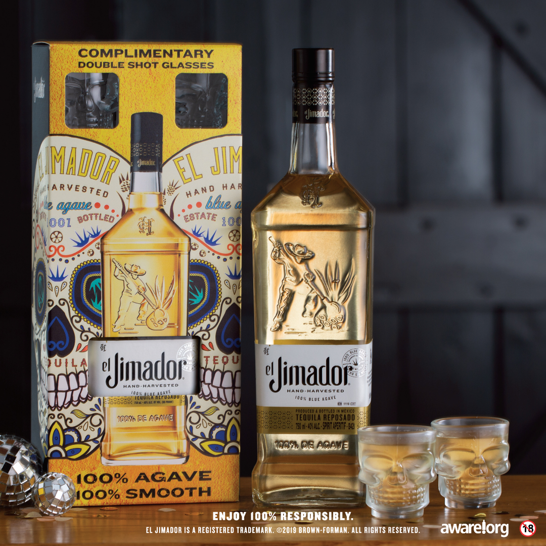 el Jimador Latest Gift Pack Includes Skull-shaped Shot Glasses! photo