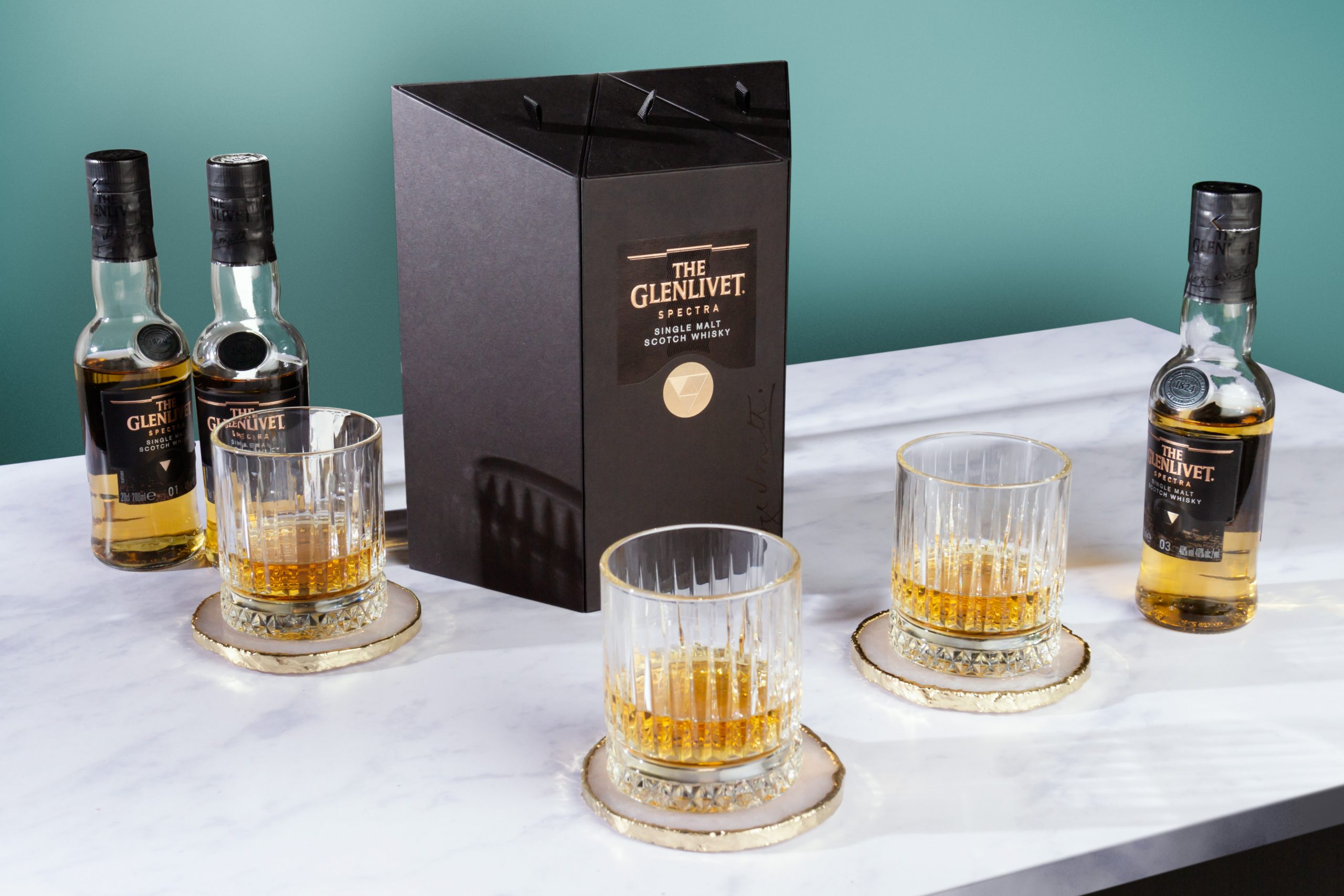 Challenge Your Senses And Discover A Mysterious Spectrum Of Flavours With The Glenlivet Spectra photo