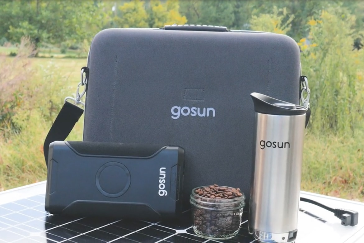 Solar Power Your French Press With The Gosun Brew photo