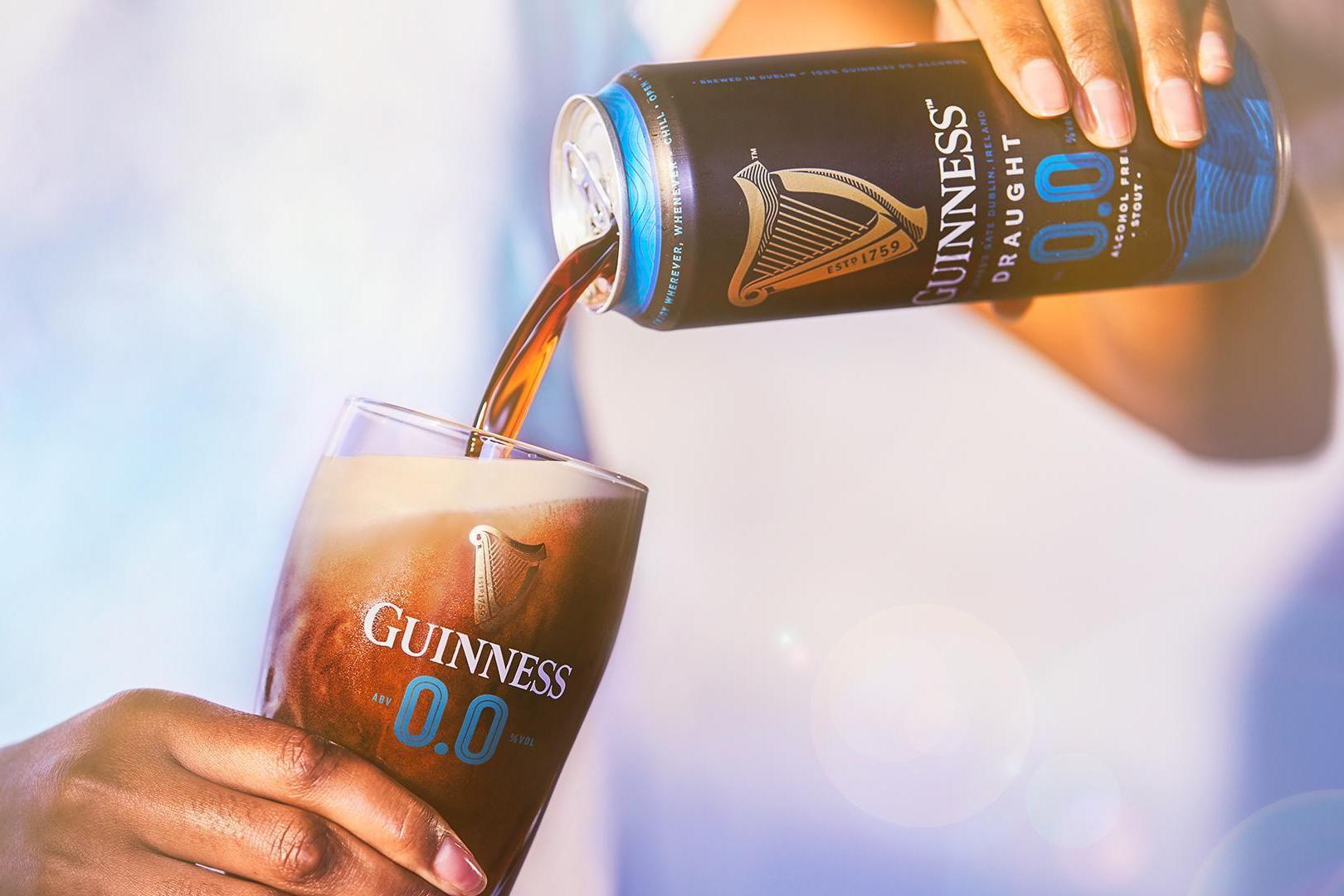 Guinness 0.0: Irish Giant Launches Alcohol-free Stout photo