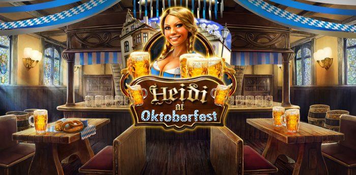 heidi at oktoberfest 700x345 Best Drink Themed Free Online Slots