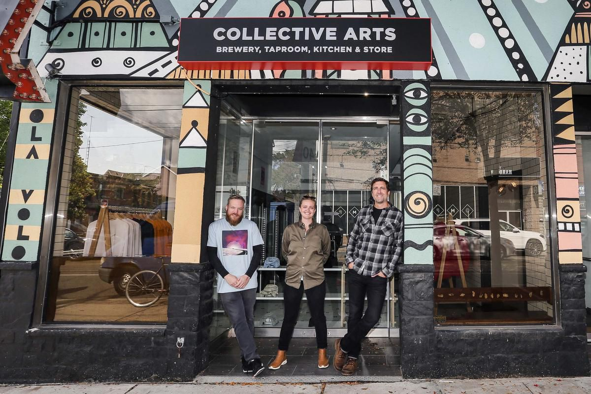 Hamilton's Collective Arts Brewery Opens Trinity-bellwoods Location photo