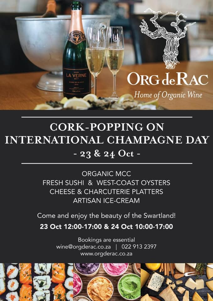 Cork-Popping On World Champagne Day At Org de Rac photo