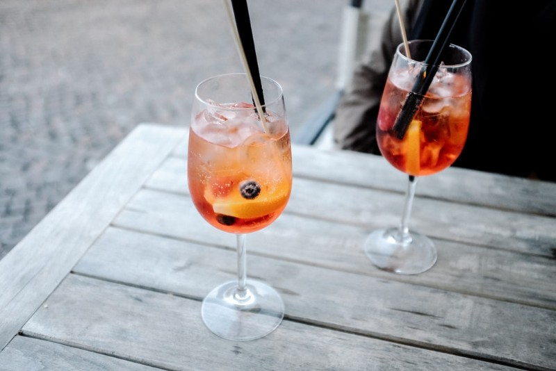 Free Apertivo with any 2 canapés purchased photo