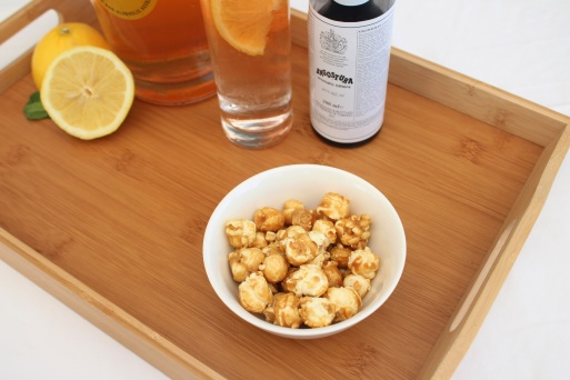 popcorn angostura Pairing The Ultimate #Ocsober Summer Refreshment With Sweet And Salty Nibbles