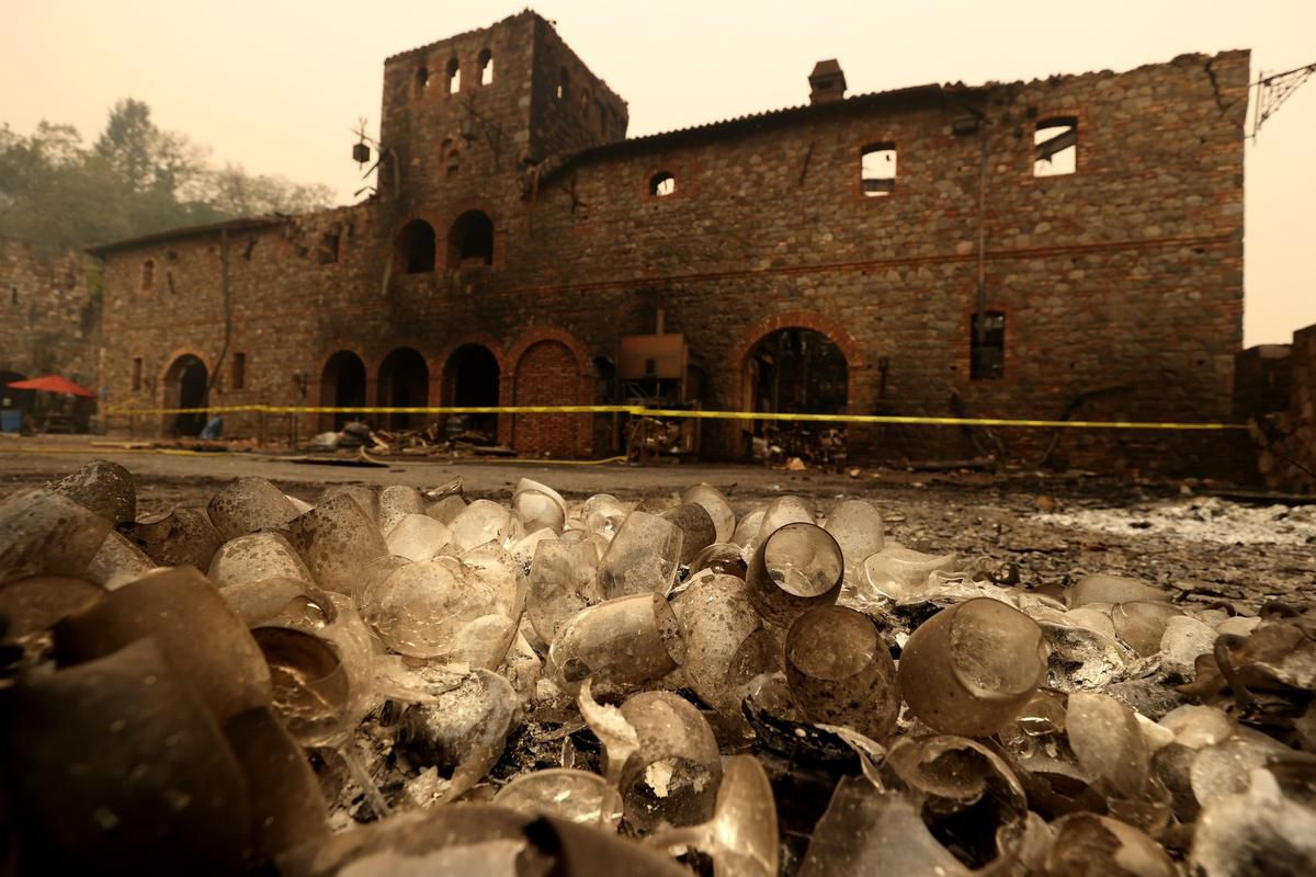 California Fires Take A Deep Toll On Wine Country photo