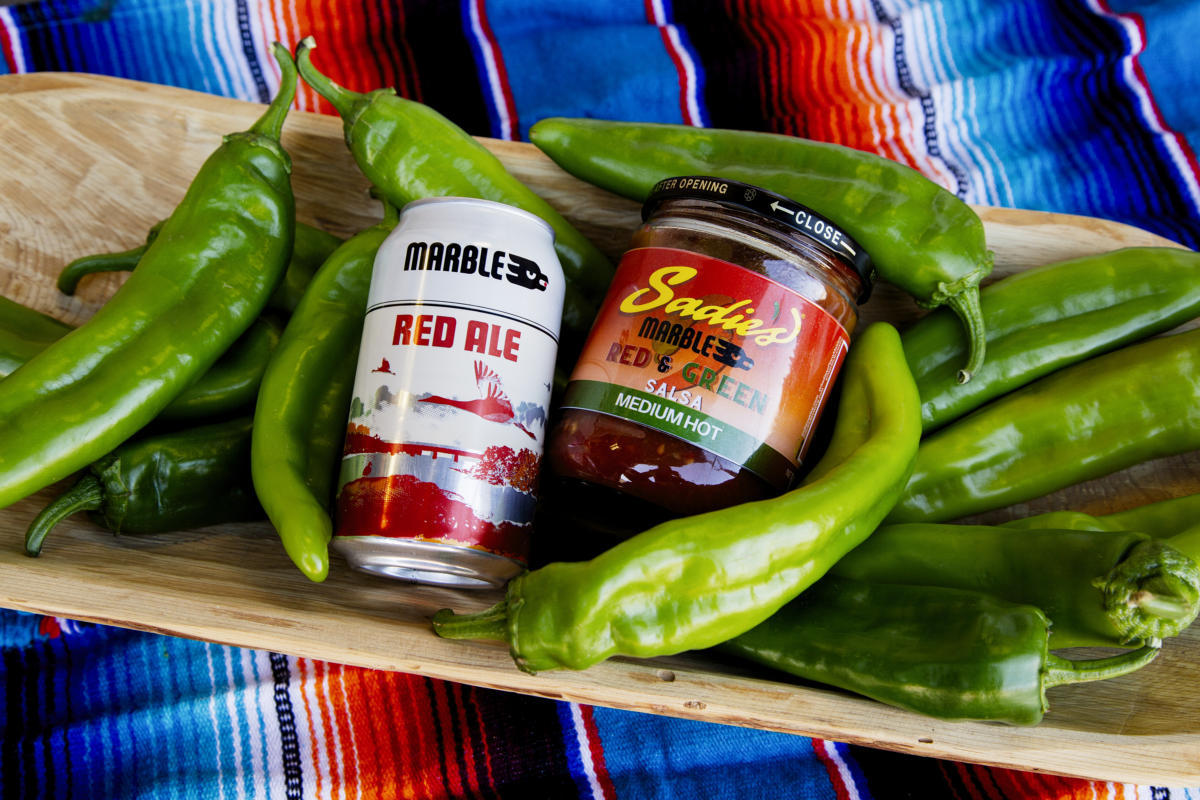 Local Blend: Sadie's Creates Red & Green Salsa With Marble's Red Ale photo