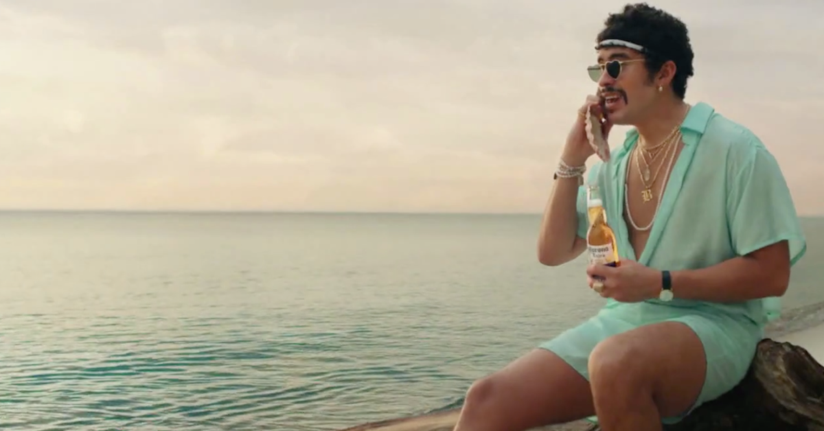Rapper Bad Bunny Is The New Face Of Corona Beer photo