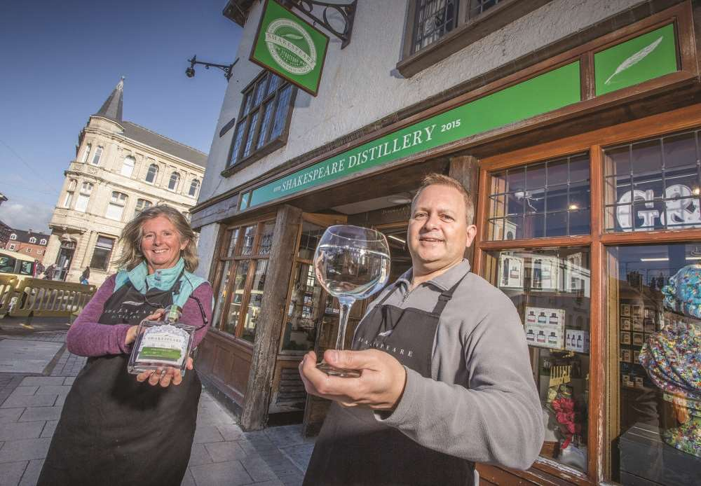 Shakespeare Distillery Launches Stratford Pop-up Shop photo