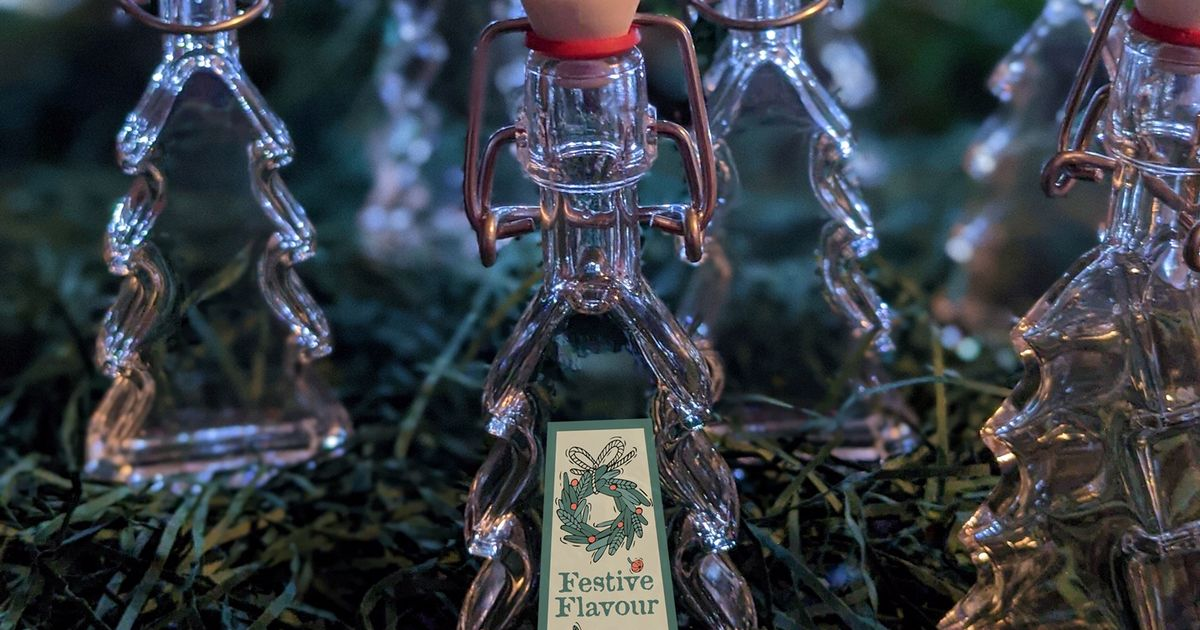 Durham Distillery Launches Festive Gins In Christmas Tree And Star-shape Bottles photo