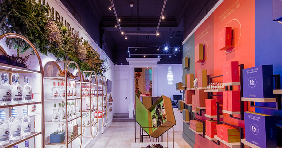 Edinburgh Gin Has Opened A New Christmas Pop-up Store In The Capital photo