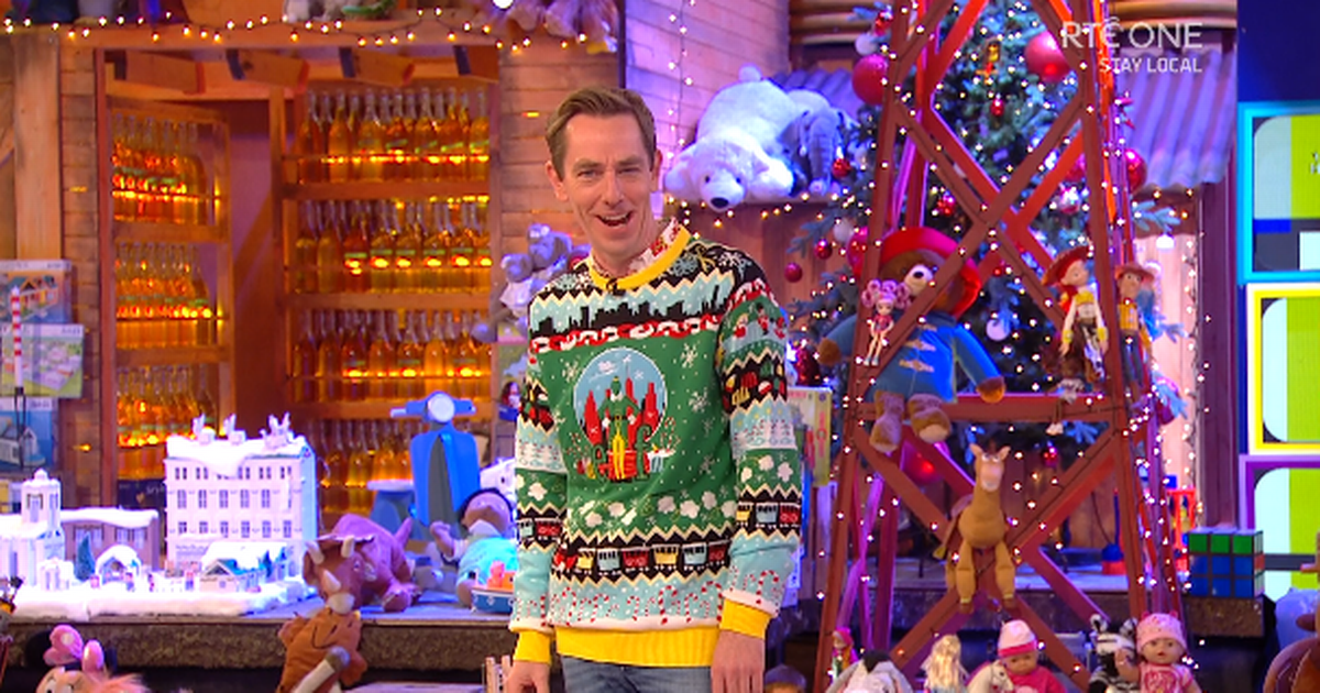 """Rte Viewers Convinced Ryan Tubridy Said The """"f-word"""" On The Toy Show photo"""
