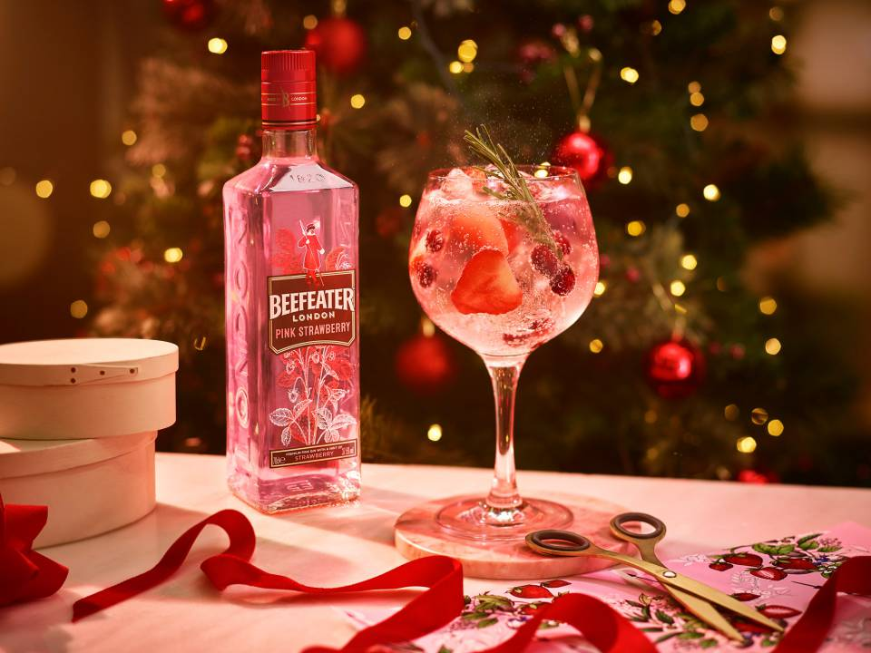Refreshing Strawberry-flavored Beefeater Pink Will Be Your New Favorite Gin photo