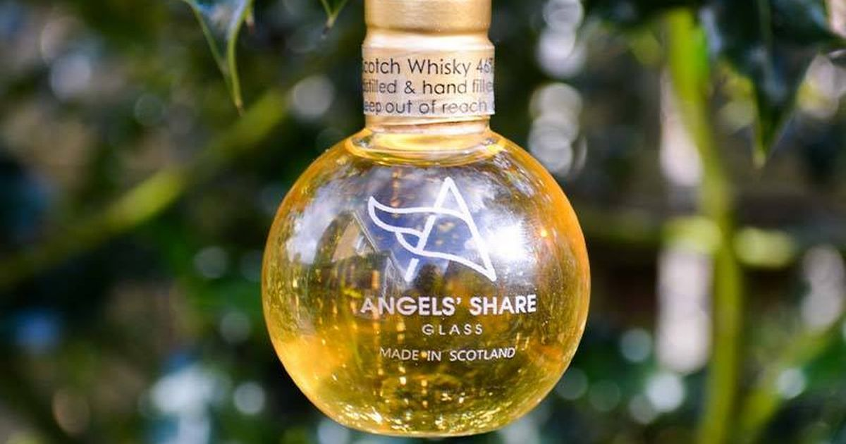 Angel's Share Glass Whisky Baubles photo