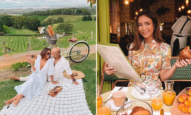 Couple Trick Fans Into Thinking They're On A European Trip photo