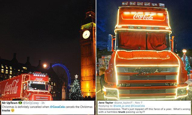 Coca-cola Cancels Their Annual Festive Truck Tour Amid Pandemic photo