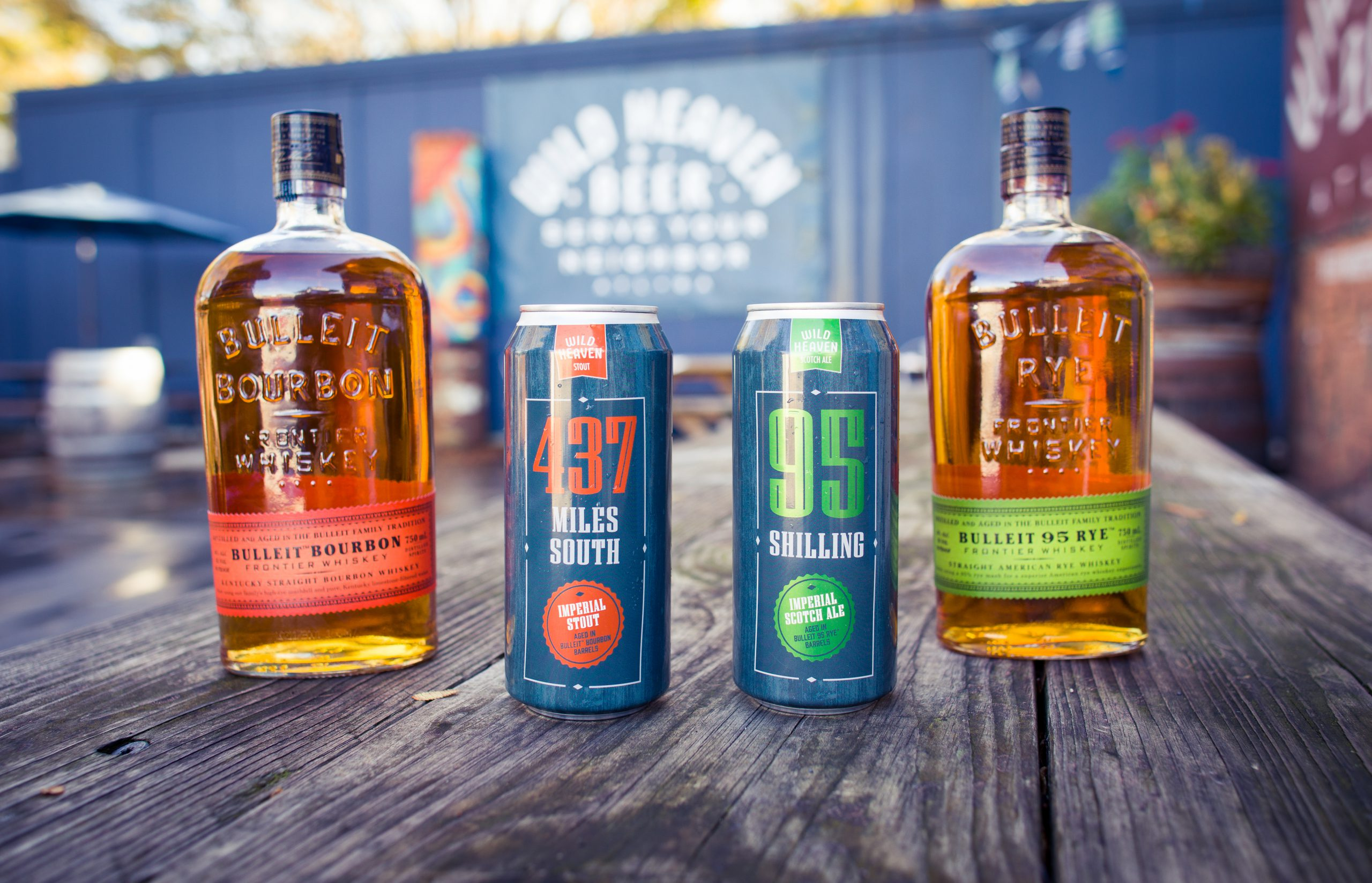 Wild Heaven Beer Collaborates With Bulleit Frontier Whiskey On Two-part Barrel-aging Collaboration photo