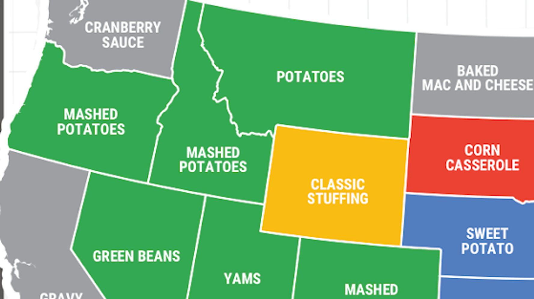 The Most-searched Thanksgiving Side Dish In Every State photo