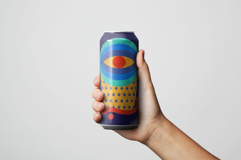 The Eyes Are On Mario Carpe's Throwback Design For Collective Arts Brewing's Latest Ipa photo