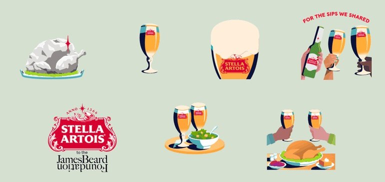 Stella Artois Applies Venmo Stickers To Aid Culinary Industry photo