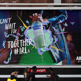 Absolut Unveils It's In Our Spirit Campaign photo