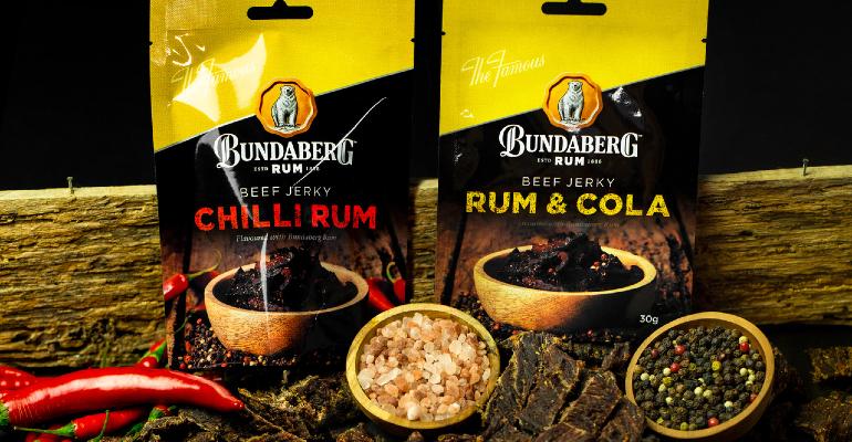 Diageo's Bundaberg Rum Spices-up Doctor Proctor's Beef Jerky photo