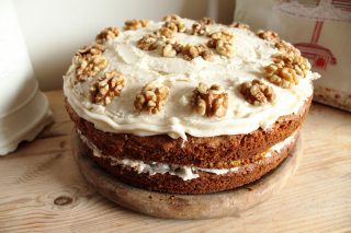 South African Carrot Cake Recipe On National Cake Day photo