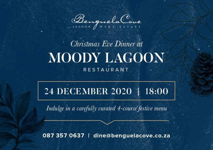 Christmas eve dinner event gads 700x495 Christmas Eve Dinner at Moody Lagoon