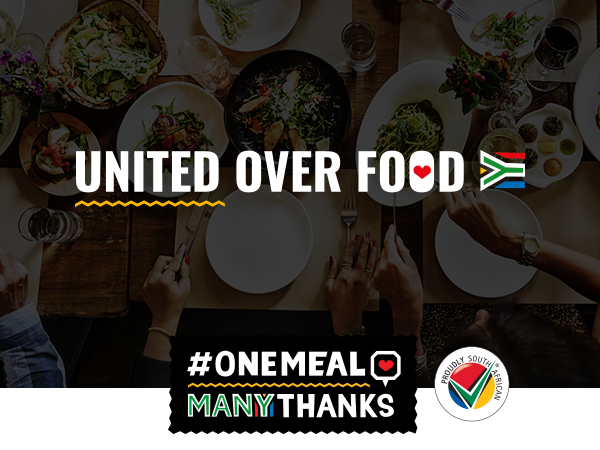 #onemealmanythanks Partners Up With Proudly South African To Support Local Restaurants This Festive Season photo