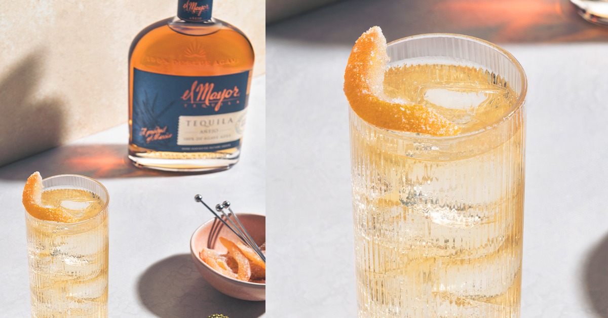 Fall Flavors Flourish In El Mayor Tequila's Honey Snap Cocktail photo